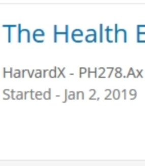 HarvardX: 'The Health Effects of Climate Change'